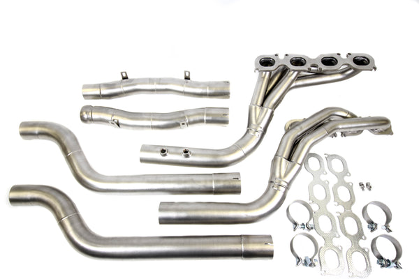 PLM Mercedes Benz C63 AMG Long Tube Headers + Mid Pipes