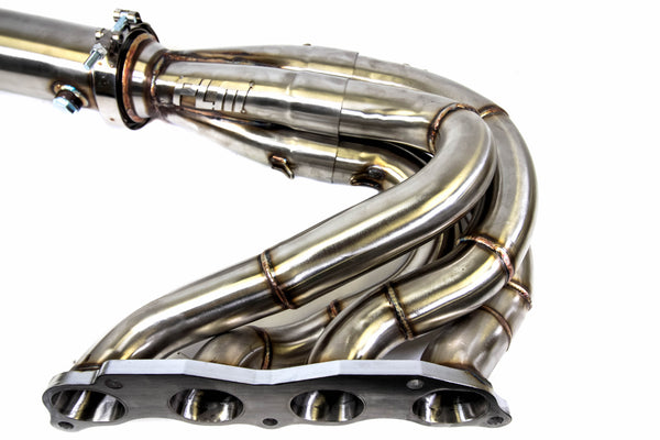 PLM Power Driven K-Series Hood & Fender Exit Race Header - Forward Lean