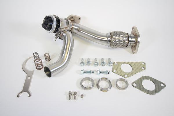 PLM Subaru EWG 44mm Up Pipe with Turbosmart WG45 Gen V Wastegate