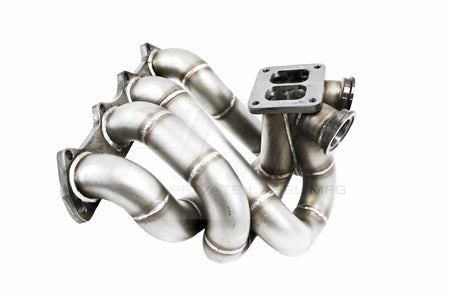 PLM Power Driven T4 Top Mount Turbo Manifold with Dual Wastegates B-Series B16 B18 B20