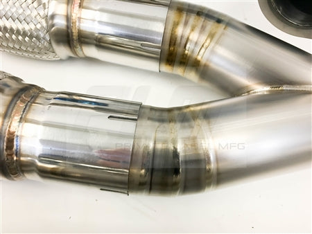 Private Label Mfg Power Driven Titanium Exhaust Nissan GT-R R35 V2 GTR