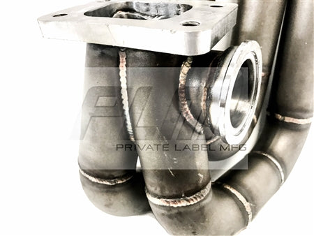 PLM Power Driven T3 Top Mount Turbo Manifold H22A H-Series F20B