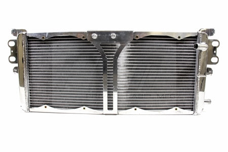 PLM Shelby GT500 Heat Exchanger with SPAL Fans & Wiring Harness