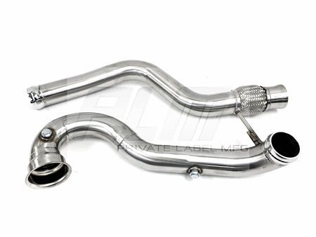 PLM Power Driven MB CLA45 A45 GLA45 Downpipe