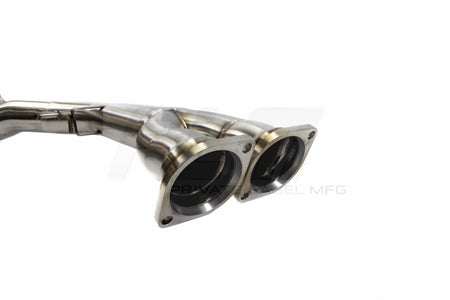 Private Label Mfg. Power Driven PLM BMW M3 / M4 (F80 / F82 ) 2015-2019 Mid Pipe