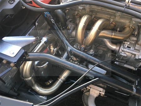PLM Power Driven Polaris Slingshot Exhaust with Adjustable Silencers & Header / Manifold