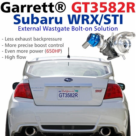 Garrett GT35R Subaru WRX / STI Bolt-on Stock Location Turbo Kit