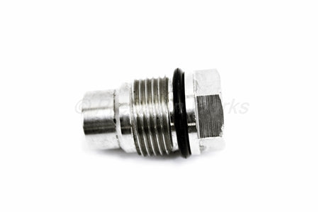 Precision Works Chevy Fuel Valve & Viton O-Ring Rail Relief Plug