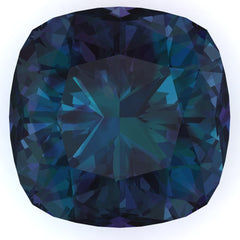 Chatham Alexandrite Cushion Cut - Fire & Brilliance
