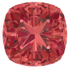 Chatham Padparadscha Sapphire Cushion Cut - Fire & Brilliance