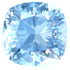 FAB Aqua Blue Spinel Sapphire Cushion Cut - Fire & Brilliance