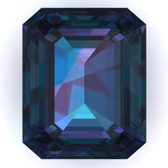 Chatham Alexandrite Emerald Cut - Fire & Brilliance