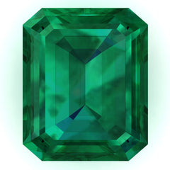 FAB Emerald Emerald Cut - Fire & Brilliance