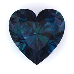 FAB Alexandrite Heart Cut - Fire & Brilliance