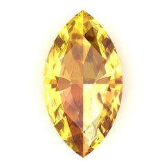 FAB Yellow Sapphire Marquise Cut - Fire & Brilliance