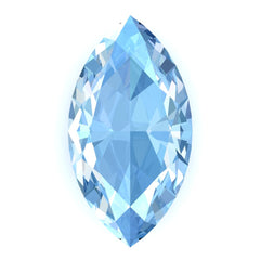 FAB Aqua Blue Spinel Sapphire Marquise Cut - Fire & Brilliance