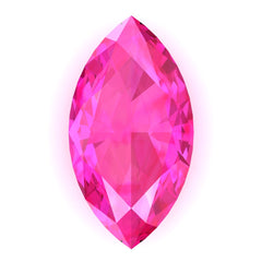 FAB Pink Sapphire Marquise Cut - Fire & Brilliance