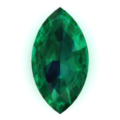 Chatham Emerald Marquise Cut - Fire & Brilliance