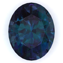 Chatham Alexandrite Oval Cut - Fire & Brilliance