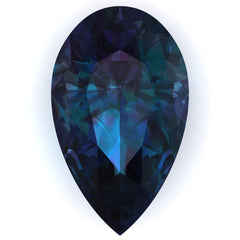 Chatham Alexandrite Pear Cut - Fire & Brilliance