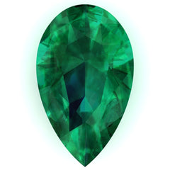 Chatham Emerald Pear Cut - Fire & Brilliance