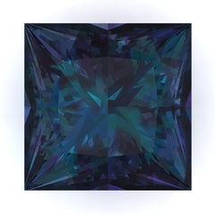 Chatham Alexandrite Princess Cut - Fire & Brilliance
