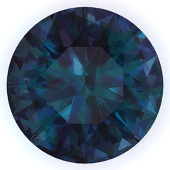 Chatham Alexandrite Round Cut - Fire & Brilliance
