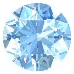 FAB Aqua Blue Spinel Sapphire Round Cut - Fire & Brilliance