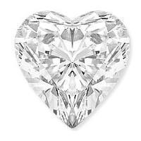 0.61 Carat Heart Diamond-FIRE & BRILLIANCE