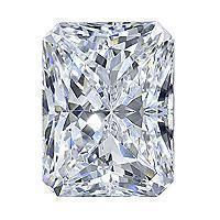 0.91 Carat Radiant Diamond-FIRE & BRILLIANCE