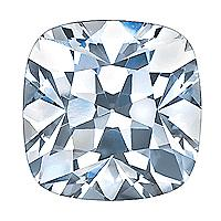 1.00 Carat Cushion Diamond-FIRE & BRILLIANCE