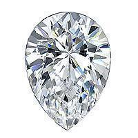 1.00 Carat Pear Diamond-FIRE & BRILLIANCE
