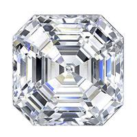 1.73 Carat Asscher Diamond-FIRE & BRILLIANCE