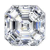 1.74 Carat Asscher Diamond-FIRE & BRILLIANCE