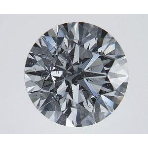 1.78 Carat Round Diamond-FIRE & BRILLIANCE
