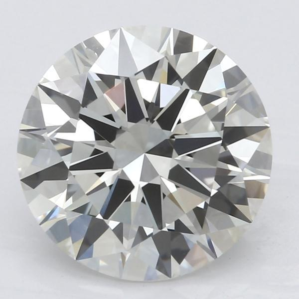 2.19 Carat Round Diamond-FIRE & BRILLIANCE