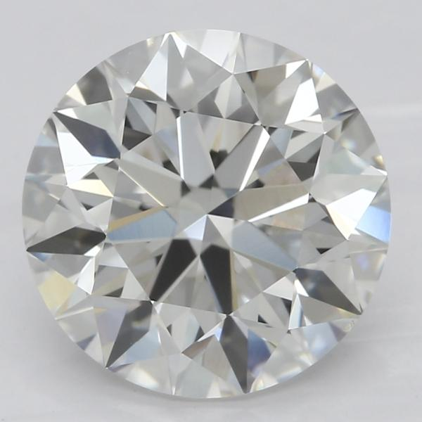 2.52 Carat Round Diamond-FIRE & BRILLIANCE