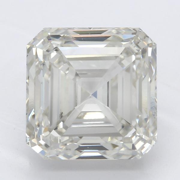 3.00 Carat Asscher Diamond-FIRE & BRILLIANCE