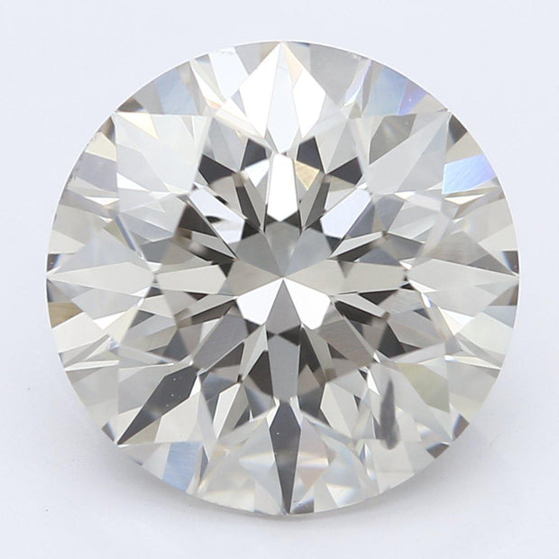 3.03 Carat Round Diamond-FIRE & BRILLIANCE