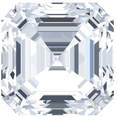 Asscher FAB Moissanite Loose Stone-Fire & Brilliance Moissanite-Fire & Brilliance ®