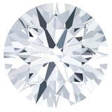 Certified Round Fire & Brilliance Loose Moissanite Stone - 2.00 Carats - E Color - VVS2 Clarity-Fire & Brilliance Moissanite-Fire & Brilliance ®