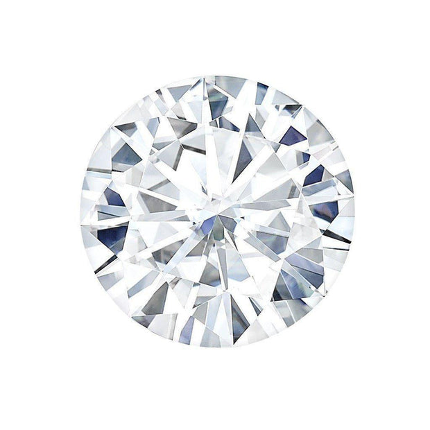 Certified Round Forever One Charles & Colvard Loose Moissanite Stone - 1.00 Carat - E Color - VVS1 Clarity-Certified Forever ONE Moissanite-Fire & Brilliance ®