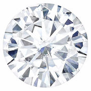 Certified Round Forever One Charles & Colvard Loose Moissanite Stone - 1.00 Carats - D Color - VVS1 Clarity-FIRE & BRILLIANCE