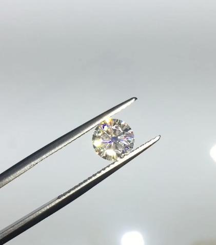 Certified Round Forever One Charles & Colvard Loose Moissanite Stone - 3.00 Carats - D Color - VVS2 Clarity