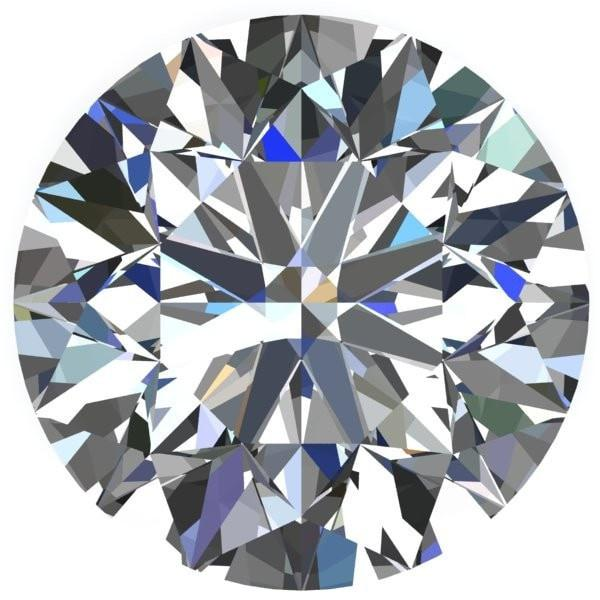 Chatham Lab-Grown Diamond Loose - Round Brilliant Cut - 1 04 Carats