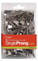 Magic Collection Single Prong Clips 80ct