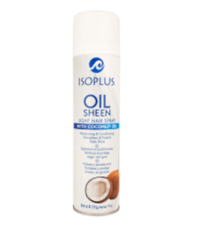 Isoplus Light Oil Sheen with Coconut Oil 9oz