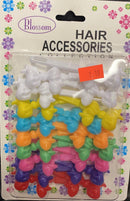 Self Hinge Plastic Barrettes (Multicolor)