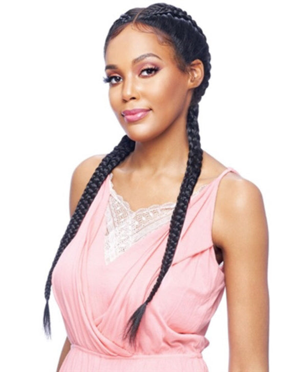 Vanessa Braided Designer Lace Wig Style TBD Apache