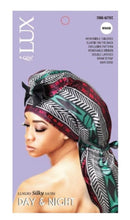 Qfitt Lux Silky Satin Day and Night Braid Bonnet
